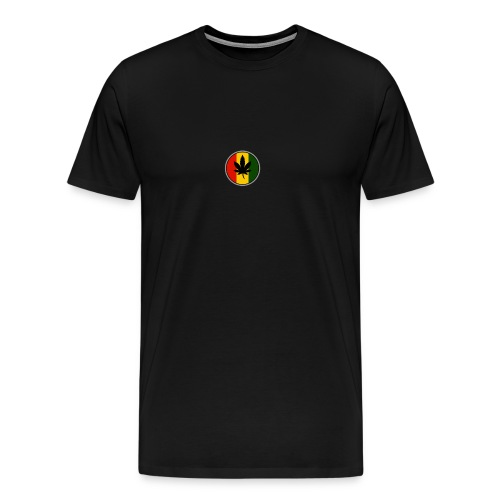 weed logo - Herre premium T-shirt