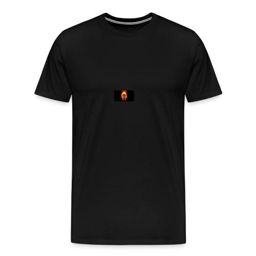 Scorched Logo - Men's Premium T-Shirt