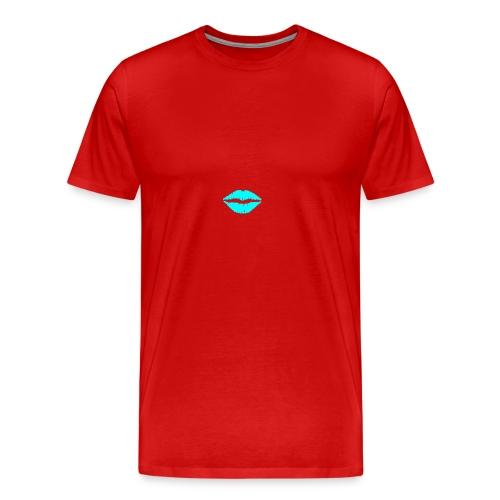 Blue kiss - Men's Premium T-Shirt
