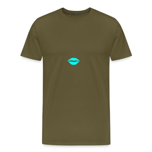 Blue kiss - Men's Premium T-Shirt