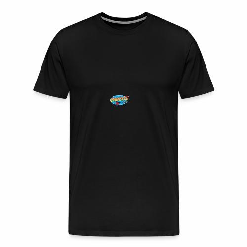 TRANSPARENT CHUCKLE CHEESE - Men's Premium T-Shirt