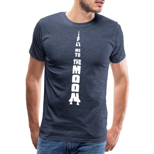 Fly me to the moon - Mannen Premium T-shirt