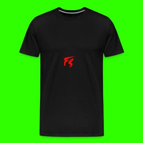FS Logo rood - Mannen Premium T-shirt