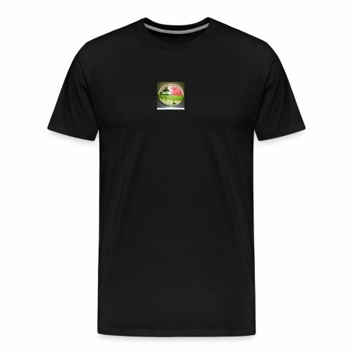 melon view - Men's Premium T-Shirt