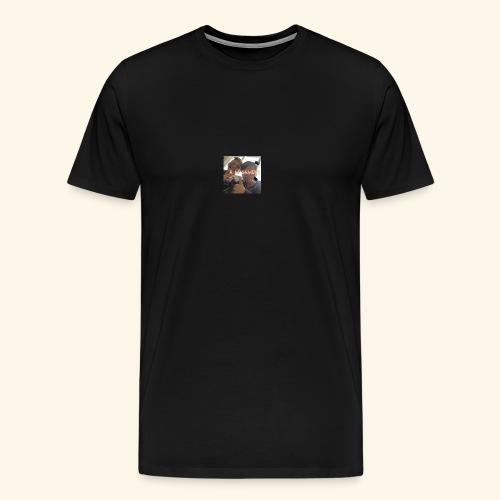 deksel am gamerz - Premium T-skjorte for menn