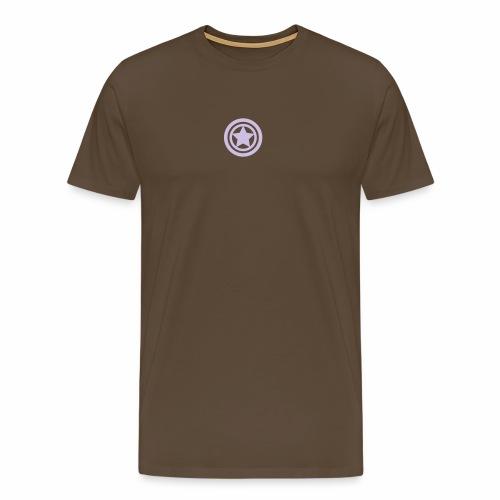 Kreise und Stern - Männer Premium T-Shirt