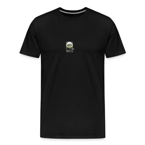 radium dial logo colour - Men's Premium T-Shirt