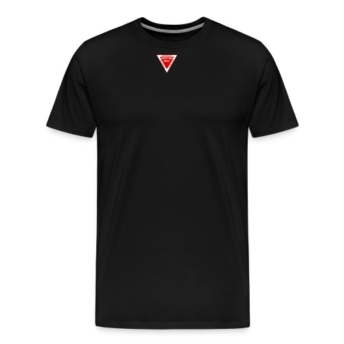587px Danger Eject svg png - T-shirt Premium Homme