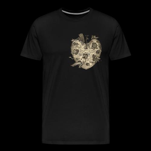 heart png - Men's Premium T-Shirt