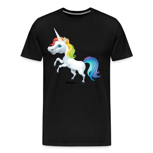 Tęczowy jednorożec - Koszulka męska Premium