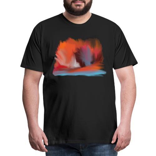 Explosion - Premium-T-shirt herr
