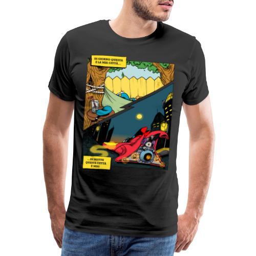 La città è mia - Maglietta Premium da uomo