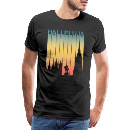 Halleluja - Halle an der Saale - Männer Premium T-Shirt