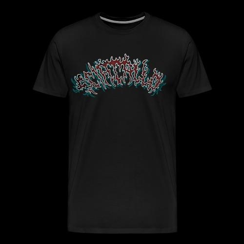 sciacallo neon logo - Maglietta Premium da uomo