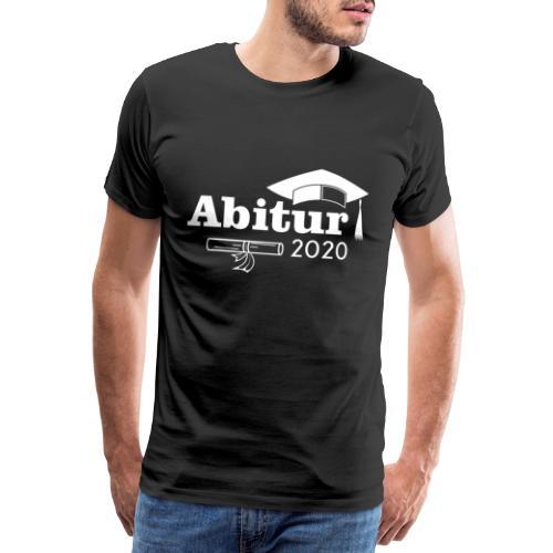 abi 2020 Abschluss 2020 Abitur - abitur 2020 - Männer Premium T-Shirt