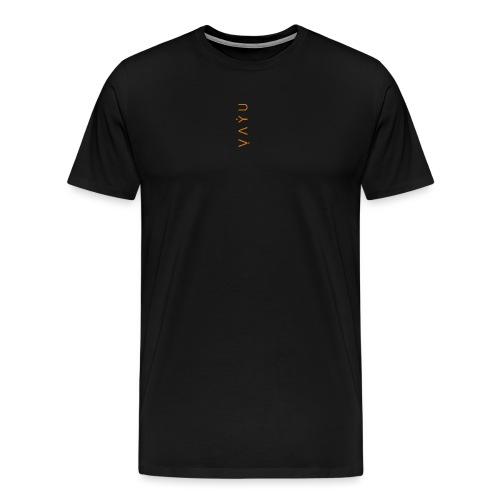 Orange Black - Men's Premium T-Shirt