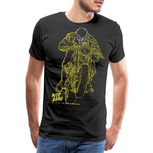 Ride Hard - Miesten premium t-paita