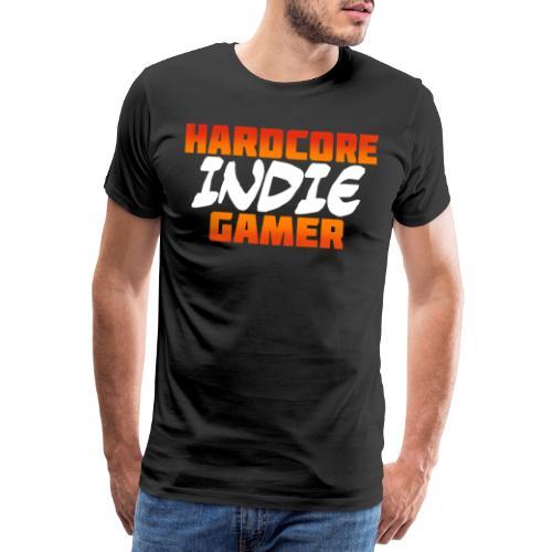 H_rdcore Indie Gamer - Männer Premium T-Shirt