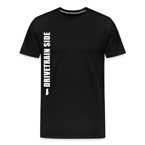 Mountainbike Fahrrad Rennrad Bike Drivetrain Kurbe - Männer Premium T-Shirt