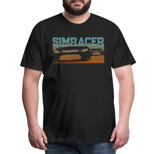 Sim Racing T-Shirt Geschenk für Rennspiel Fans - Männer Premium T-Shirt