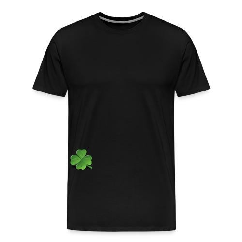 vierblättriges Kleeblatt - Männer Premium T-Shirt