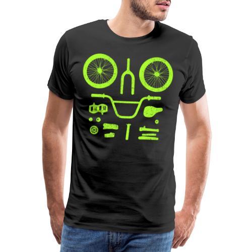 BMX Parts - Men's Premium T-Shirt