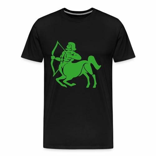 Das Sternzeichen Schütze trifft immer sein Ziel - Männer Premium T-Shirt