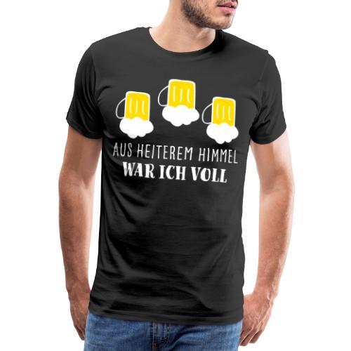 Saufshirt Geschenk Mallorca Weihnachten saufen JGA - Männer Premium T-Shirt