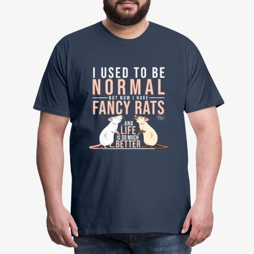 Rats Normal V - Miesten premium t-paita