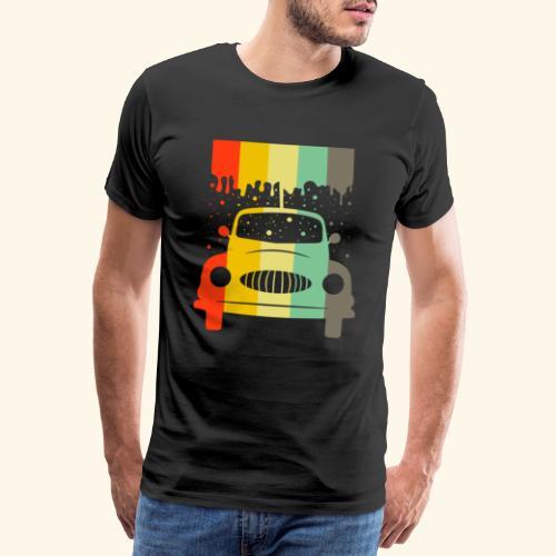 Retro Car Vintage Tee Men Women Gift Idea - Männer Premium T-Shirt