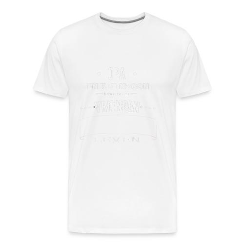 Opa en kleinzoon vrienden voor het leven vaderdag - Mannen Premium T-shirt
