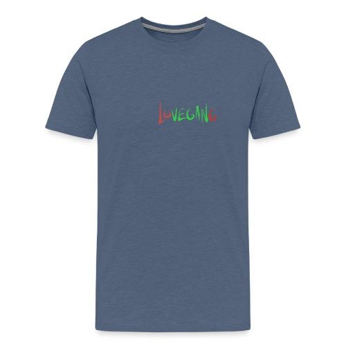 Lovegang - Miesten premium t-paita