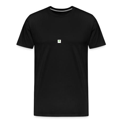 Min loogo - Premium T-skjorte for menn