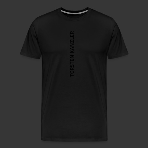 TK_Wortmarke_Senkrecht - Men's Premium T-Shirt