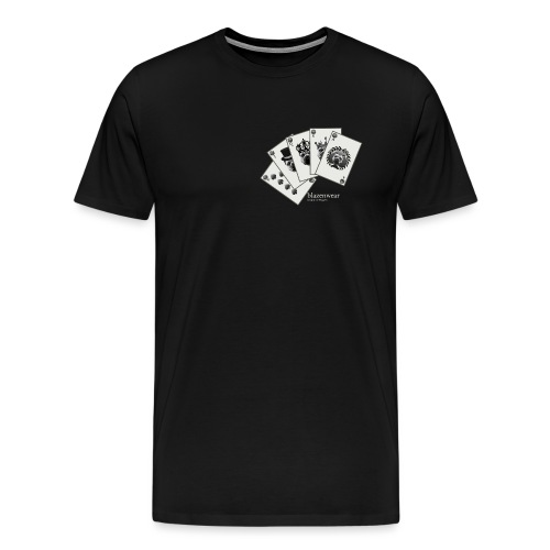 Blazenwear Royal Flush - Männer Premium T-Shirt