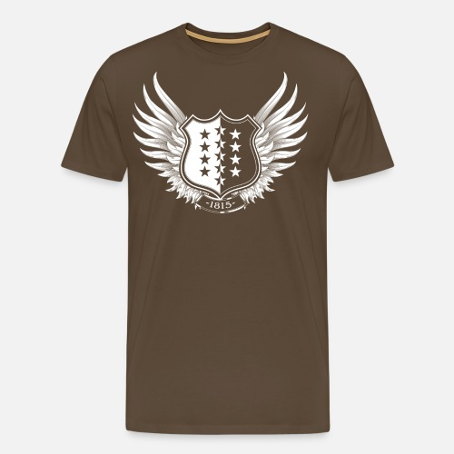 Walliser Wappen - Männer Premium T-Shirt