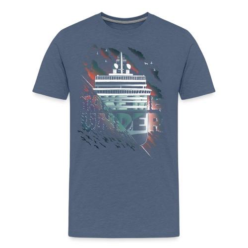 takemeunder-tshirt-motiv3 - Herre premium T-shirt