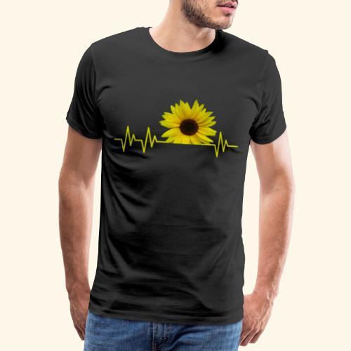 sunflowerbeat - zauberhafte Sonnenblume - Männer Premium T-Shirt