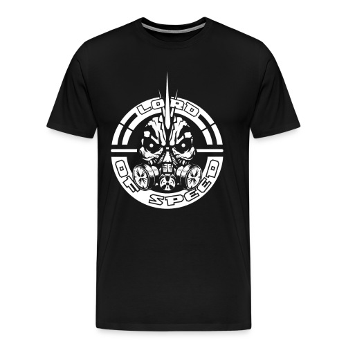 LOS BlackAndWhite 3000x3000 png - Mannen Premium T-shirt