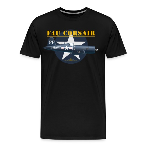 F4U-5P shirt design - Men's Premium T-Shirt