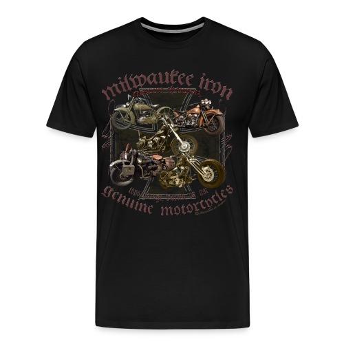 Milwaukee Motorcycles Choppers Biker - Männer Premium T-Shirt