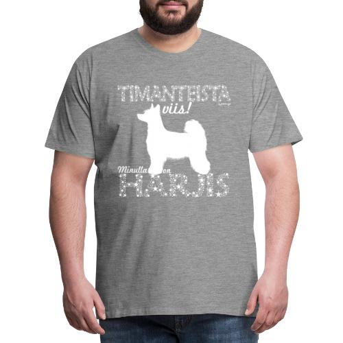 Harjis Timantti P - Miesten premium t-paita