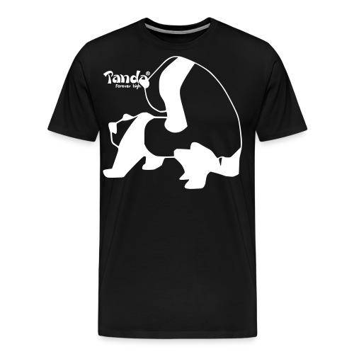 panda vektor ohnerand2 - Männer Premium T-Shirt