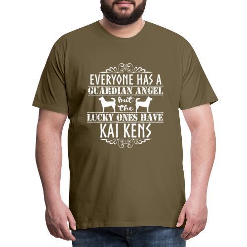 Kai Ken Angels - Miesten premium t-paita