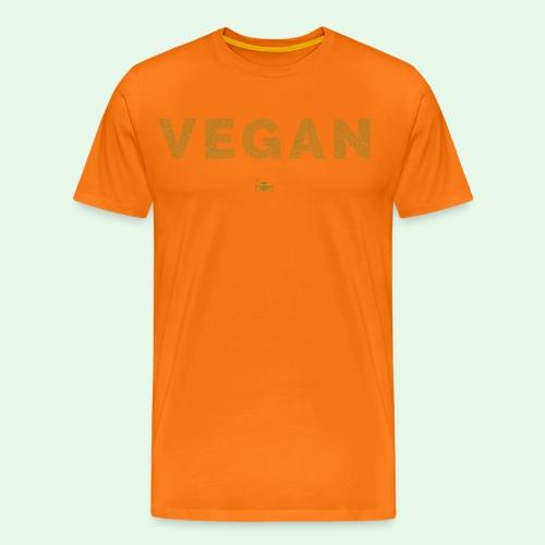 Vegan - Green - Premium-T-shirt herr