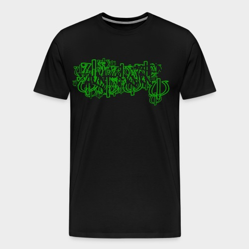 cant see - Männer Premium T-Shirt
