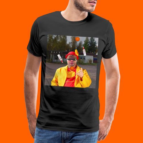 OrangeFullElmeri - Miesten premium t-paita