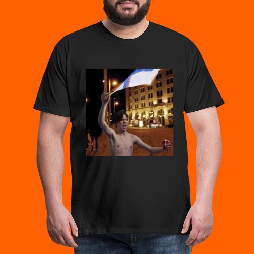 OrangeFullArttu - Miesten premium t-paita