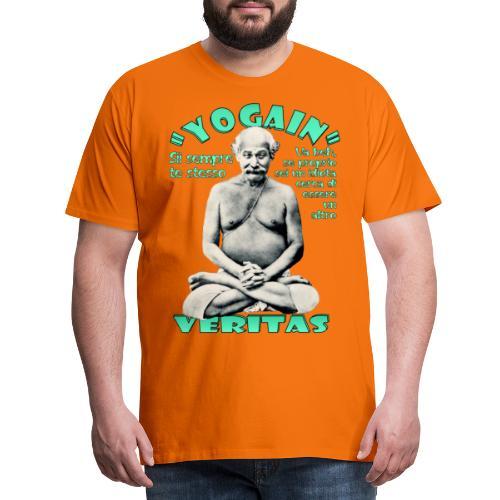 YogaIn Veritas - Maglietta Premium da uomo