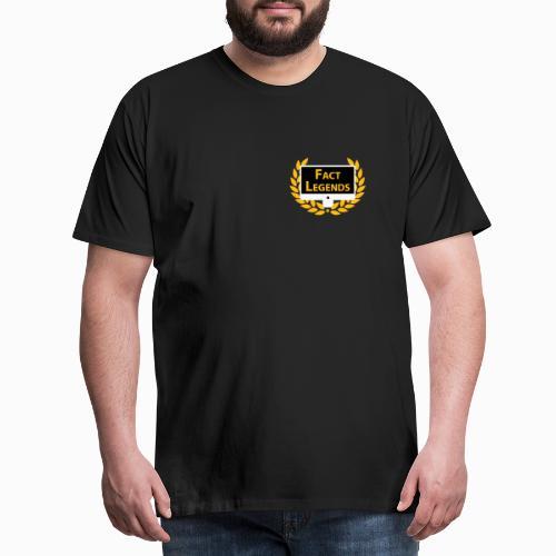 Factlegends Watermark Pocket - Men's Premium T-Shirt